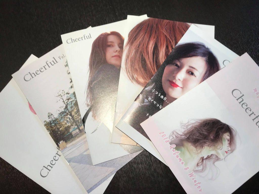 ついに・・・cheerful 秋冬号 6冊まとめて発行です!