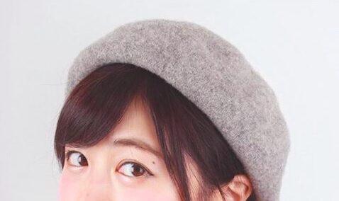 帽子にプラス