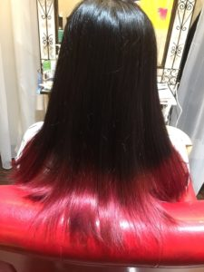 Red color