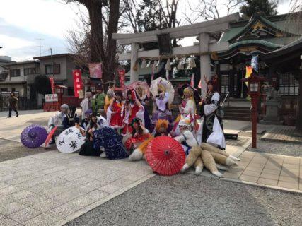 川越八幡神社でKA和COSが開催されました😄