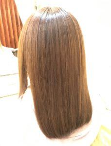 Hipa hipaを使うだけでこんなにツルツルに☆ダメージ毛にも最適です!