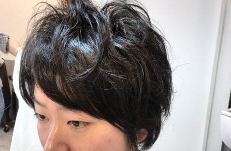 スタイリングをしやすくパーマ! 中村ブログ