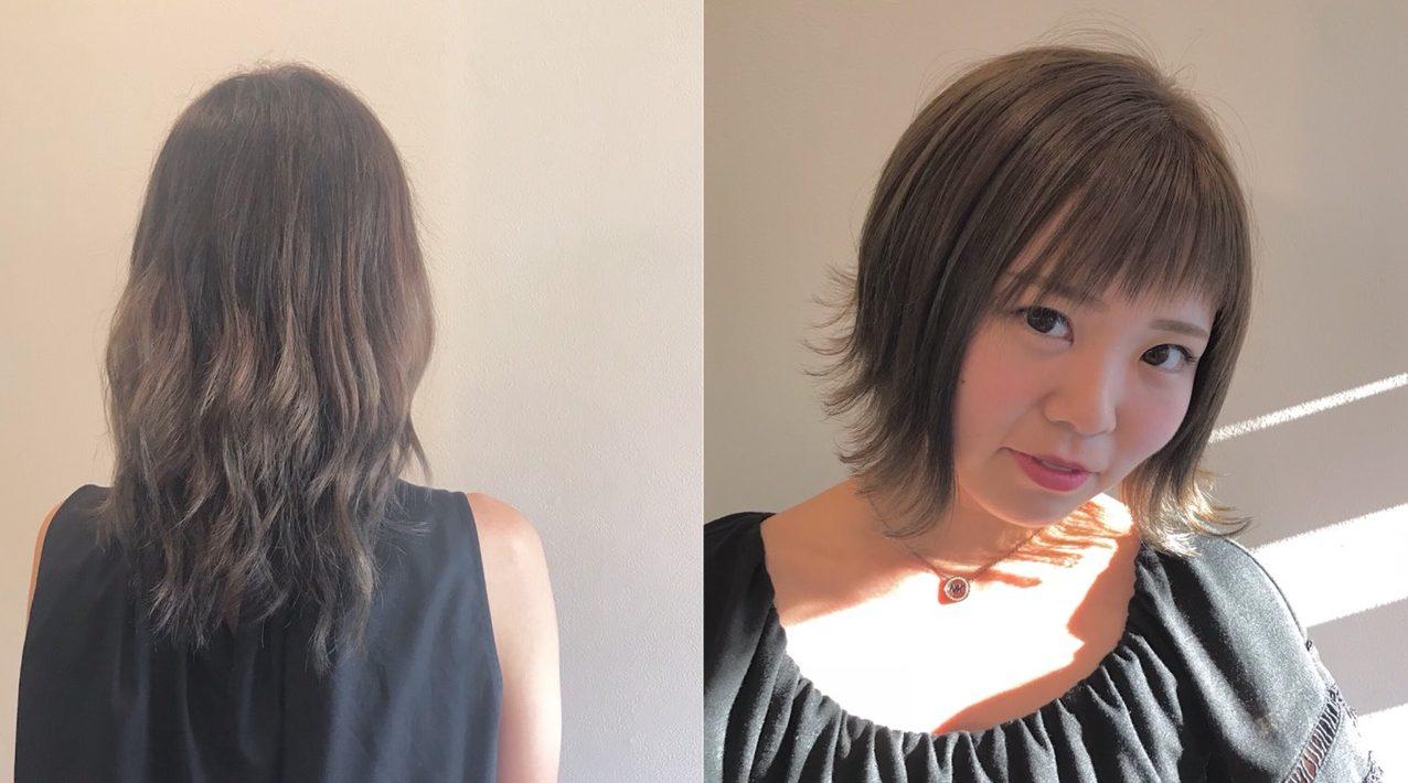 夏休みのヘアカラー 眞裕子ブログ